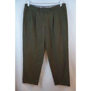 LUCIANO BARBERA Cotton Luxury Pants Trouser